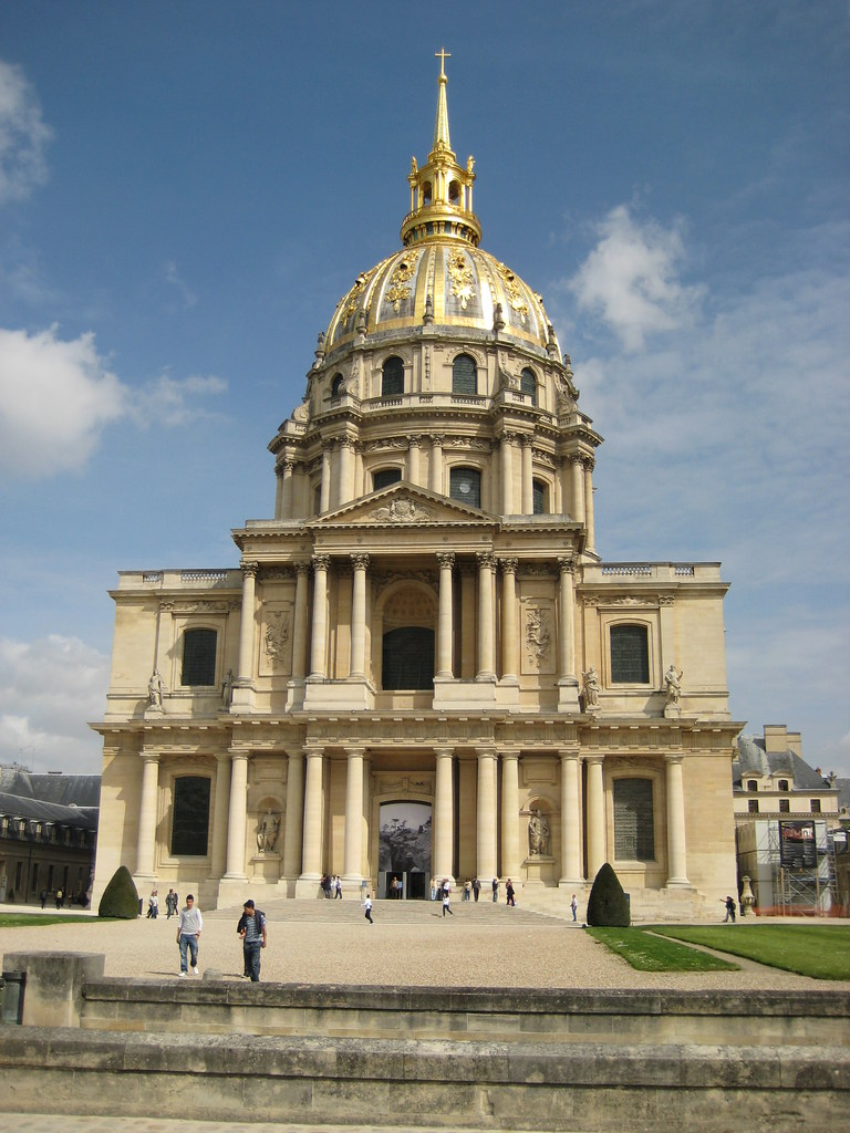 Minecraft Wallpaper 3d L Eglise Du Dome L Hotel Des Invalides Paul Trafford