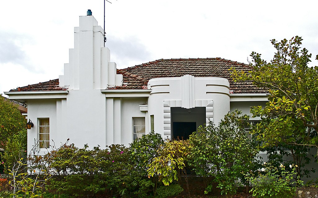 Exterieur Vr Art Deco House, Melbourne | Sandra Cohen-rose And Colin