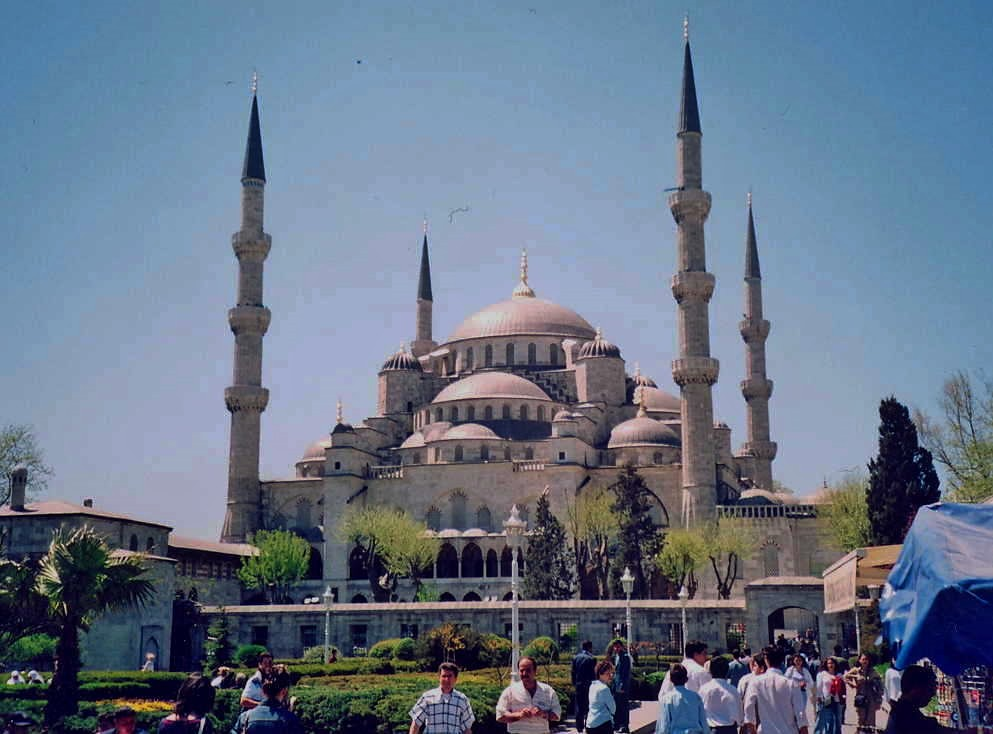 3d Masjid Wallpapers Sultan Ahmed Mosque Or Blue Mosque Istanbul Turkey Apr