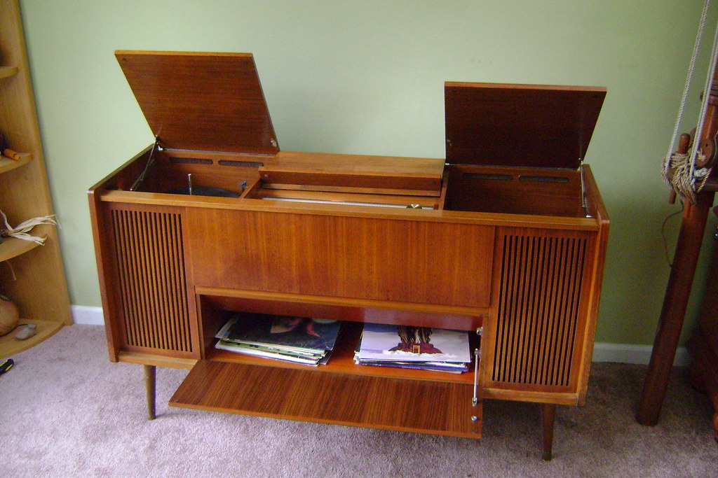 Meuble Chaine Hifi Grundig Home Stereo | Tubes Sound Awesome! | Dgarlits | Flickr