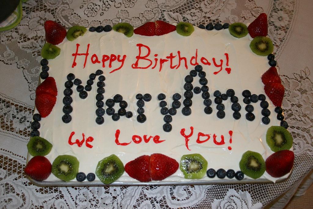 3d Name Wallpapers R Happy Birthday Maryann Echohislove Flickr