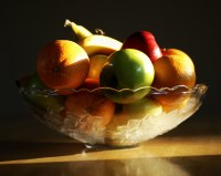 Fruit Bowl | The sun fell across our fruit bowl in just ...