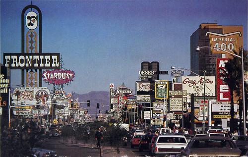 1980 Girls Wallpaper Las Vegas Strip 1985 Postcard I Bought This Card Off