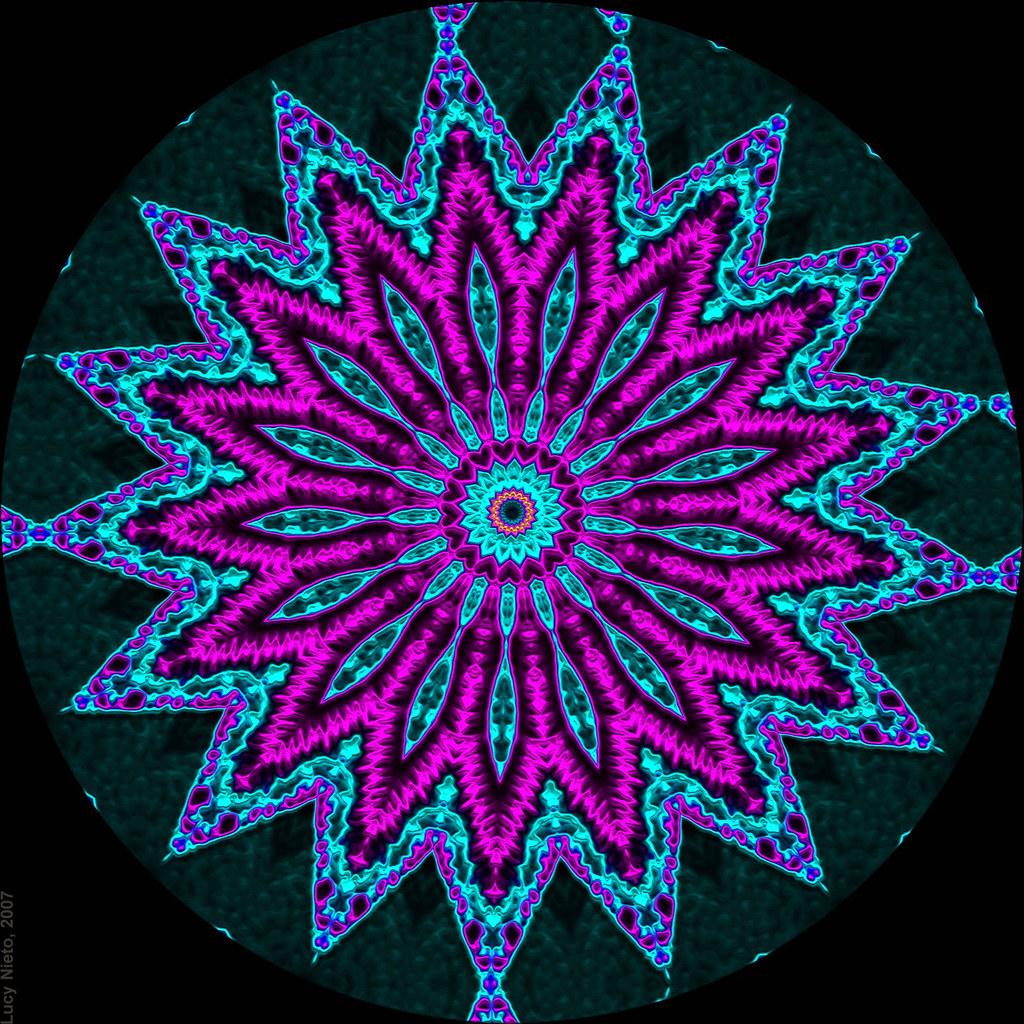 Neon Wallpaper 3d Filigrana De Ne 243 N 5320 Mandalas Generadas Con Kaleider Y