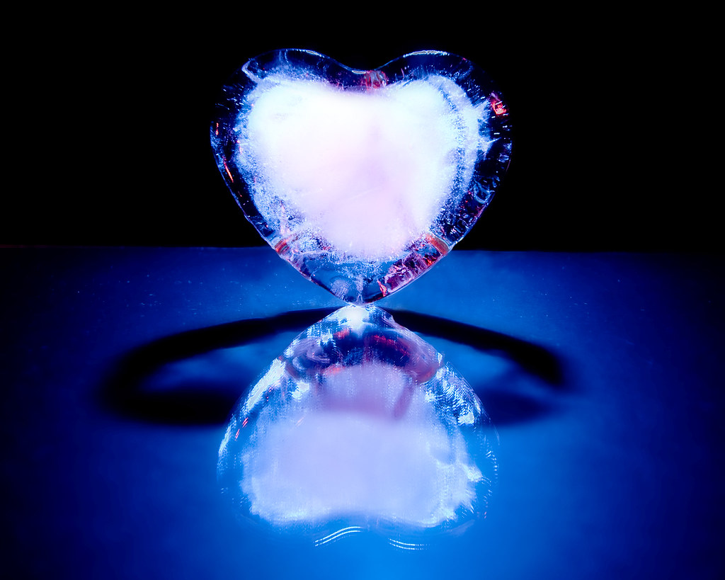 Ebay 3d Wallpaper Photo Hearts Of Ice Flashes Fired With Ebay Remote Vivitar At
