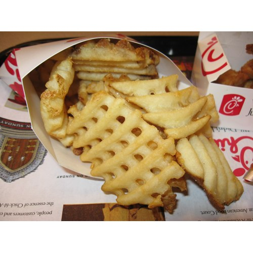 Medium Crop Of Chick Fil A Waffle Fries