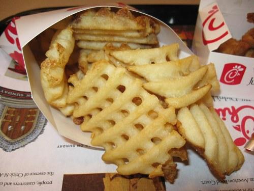 Medium Of Chick Fil A Waffle Fries