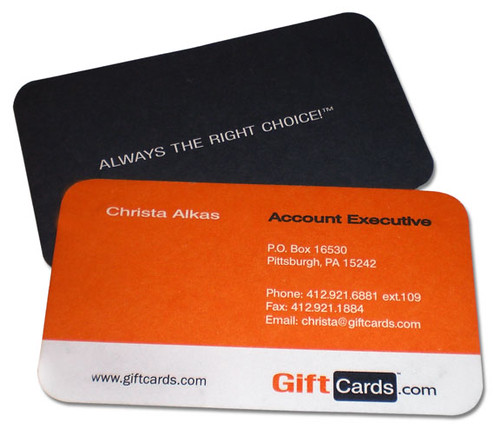 Gift Card Business Card Design John LeDonne of ledonnecrea\u2026 Flickr - gift cards for business