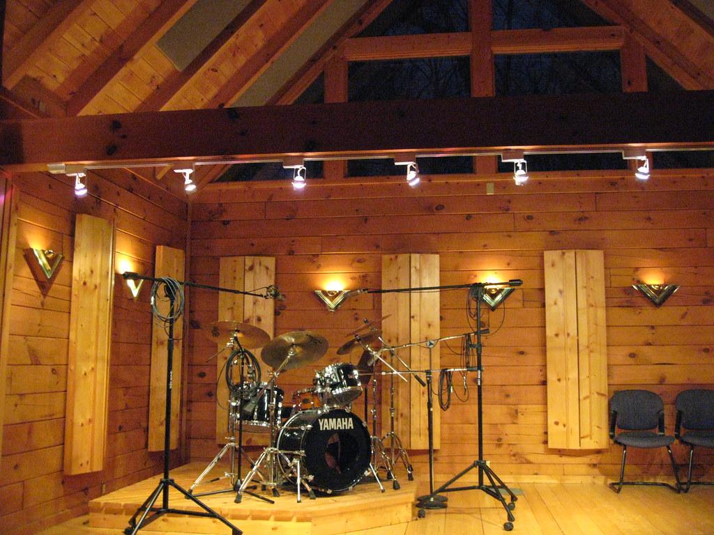 Drum Set Wallpaper Hd Drum Room Creative Caffeine Studio All Wood Tracking