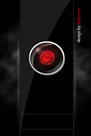 wallpaper-hal9000-iphone | One of many 2001: A Space ...