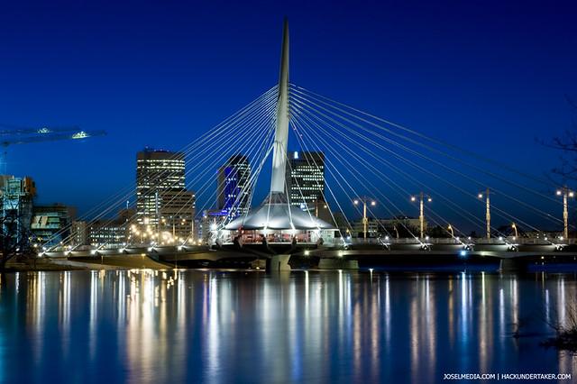 3d Winter Wallpaper Free Provencher Bridge Winnipeg Mb Nikon D700 Nikkor 24