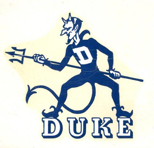 3d Devil Wallpaper Blue Devil Decal Undated Repository Duke University