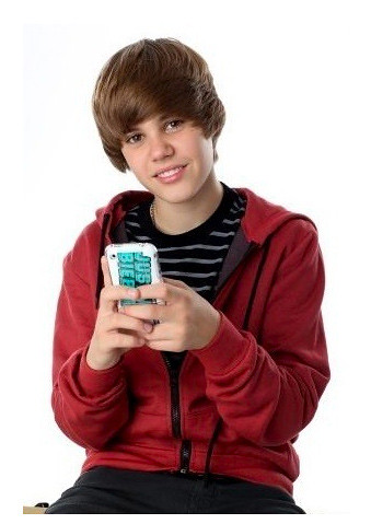 Cute Red Wallpaper For Iphone Justin Bieber With His Iphone Www Iphonesavior Com