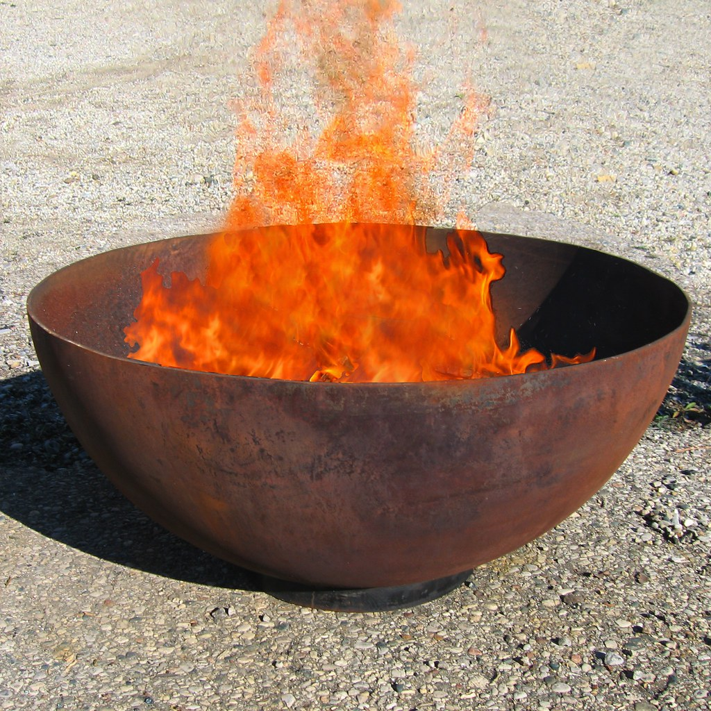 Fire Pit Big W Big Bowl O Zen 37 Quot Recycled Steel Firepit Available From