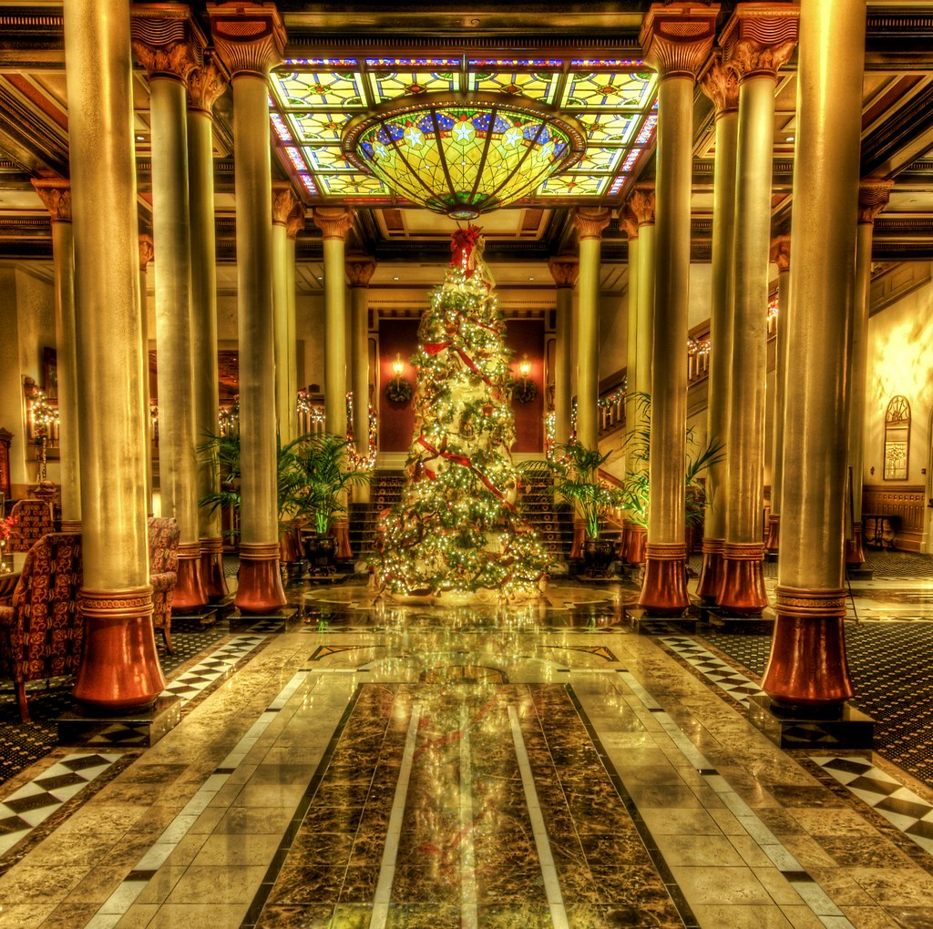 3d Gif Wallpaper For Mobile Christmas In The Driskill Merry Christmas To All I