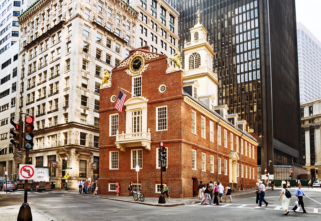 Philadelphia In The Fall Wallpaper Old State House 1713 206 Washington Street Boston Mas