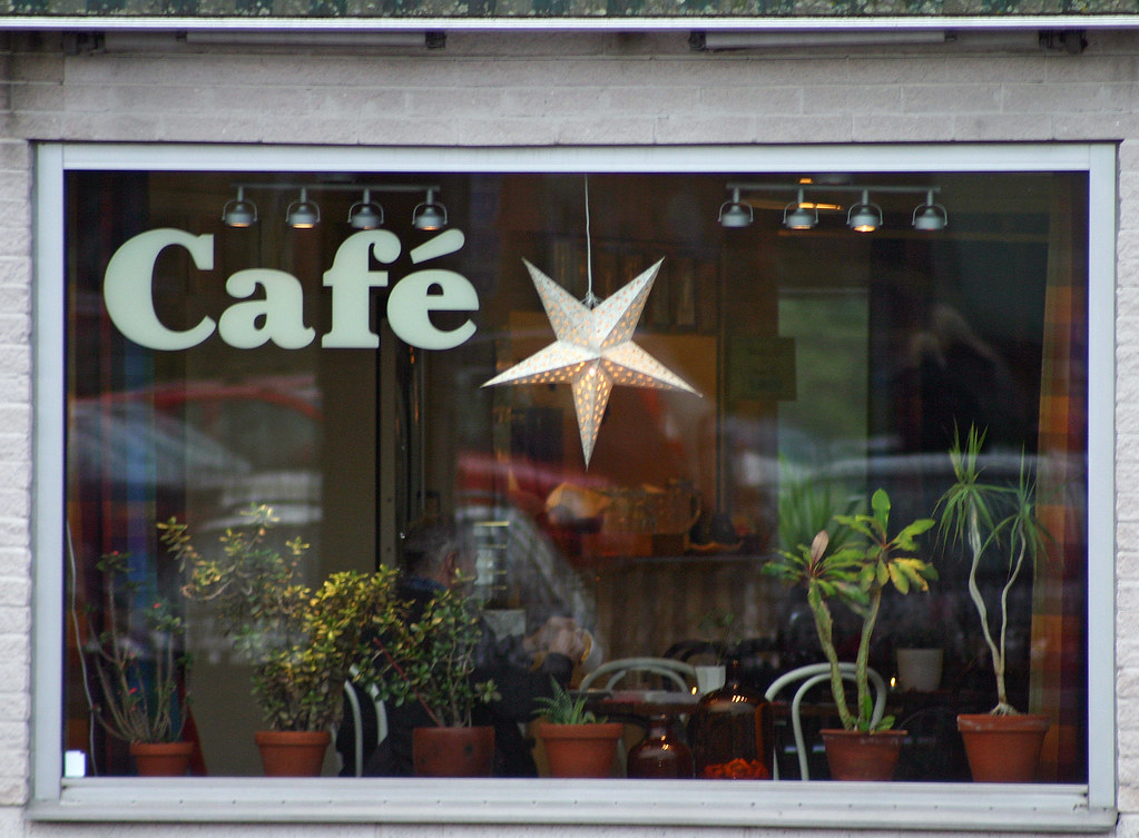 Window Design Pictures India Café Window | A Café Window At Handenterminalen. If You