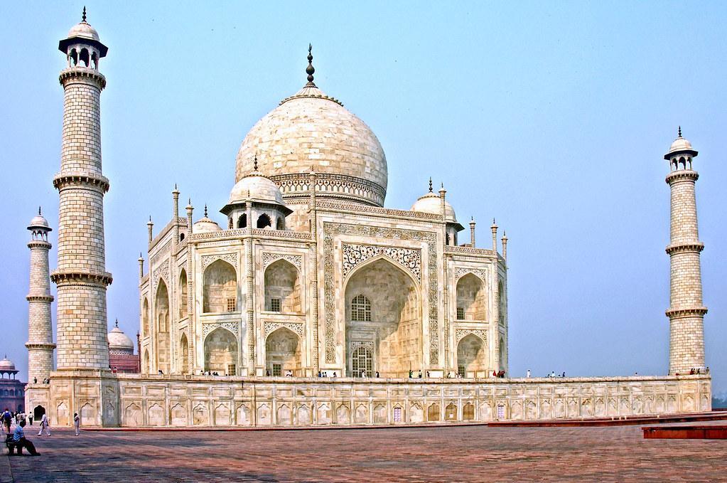 Taj Mahal Hd Wallpaper India 6148 Taj Mahal Built Out Of Love Side View