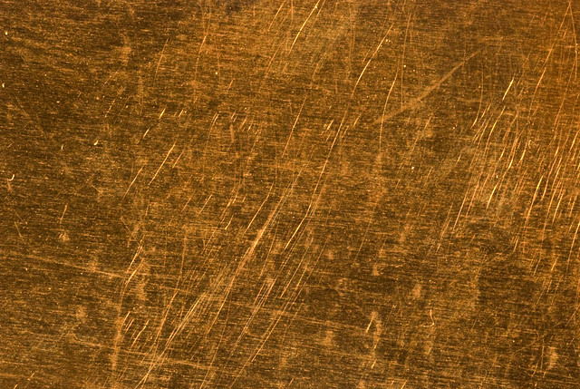 3d Wood Effect Wallpaper Scratched Copper 2 This Is A Sheet Of Distressed Copper