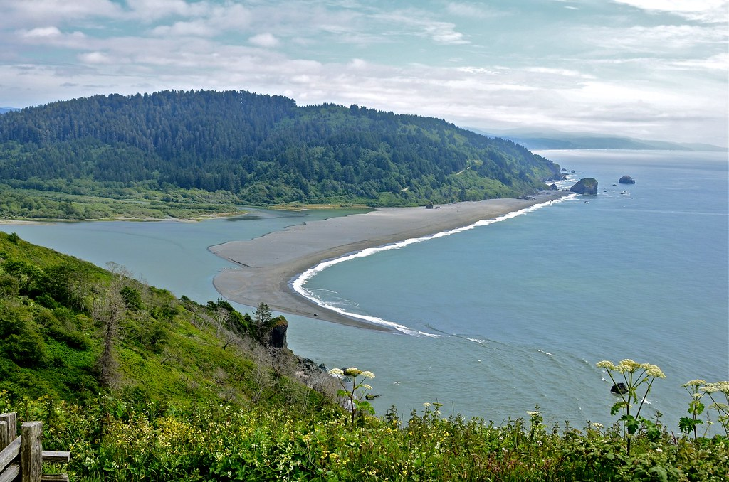 Tribal Wallpaper 3d Sand Spit At Klamath River Mouth The Tail End Of This