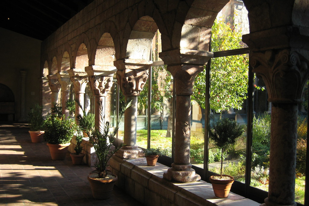 Architecture Wallpaper Fall Nyc Fort Tryon Park The Cloisters Cluxa Cloister Flickr