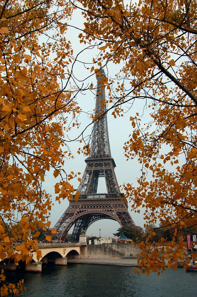 Fall Autumn Wallpaper Free Eiffel Autumn John Wilkinson Flickr