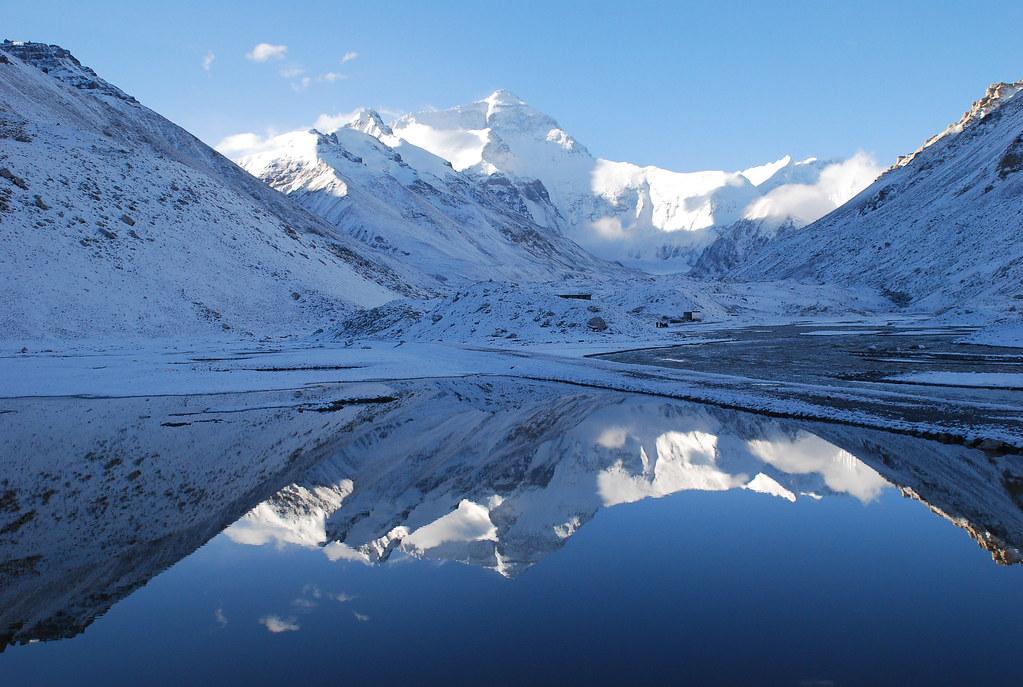 3d Mountain Wallpaper Tibet 762 Mt Everest Mrgarylarson Flickr