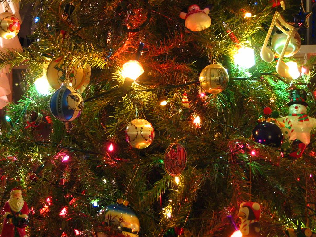 Deco Wallpaper 3d Christmas Tree Closeup Marilynn S Current Wallpaper
