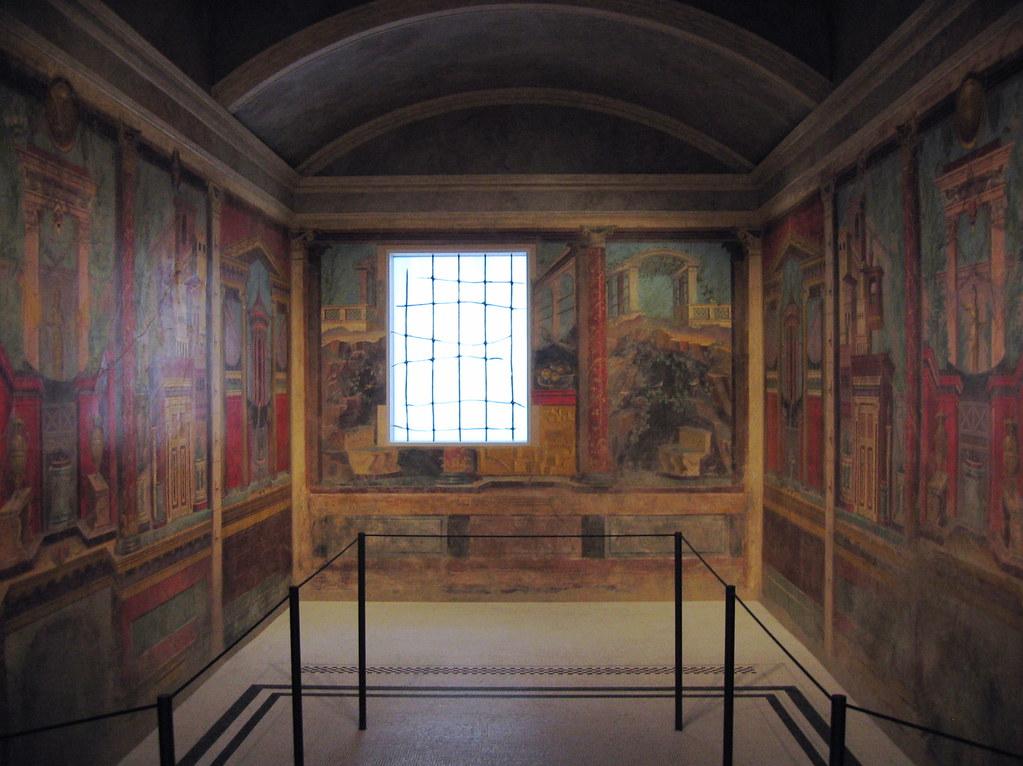 3d Fountain Wallpaper A Pompeii Bedroom Metropolitan Museum Of Art Nyc