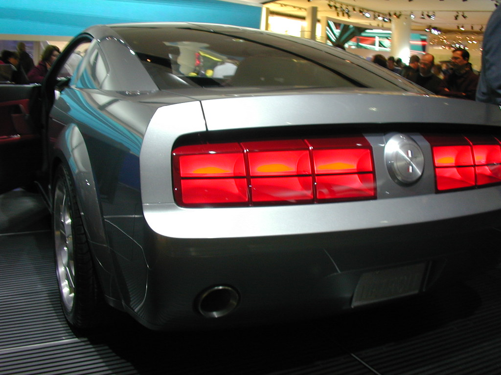 3d Mustang Wallpaper 2005 Mustang Concept Rear View 3 This Was The Concept