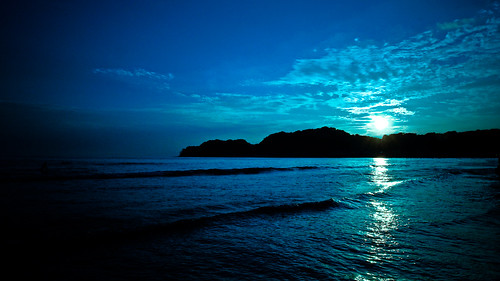 Deep Quotes Wallpapers Deep Blue Sunset On Black Localize Recent