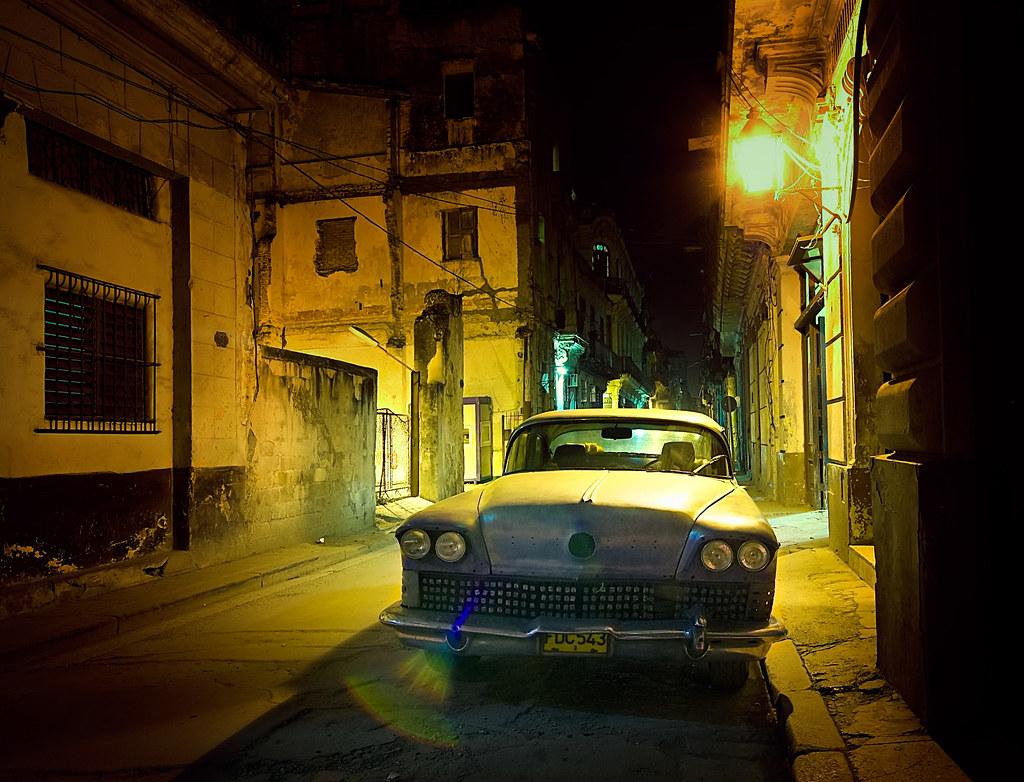 Cuba 3d Wallpaper Noite Em Havana Velha Night In Old Havana 192 Noite Em