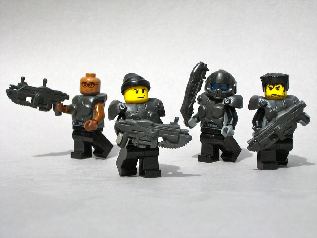 Slipknot 3d Wallpaper Lego Cogs Gears Of War With Hazel Accessories From