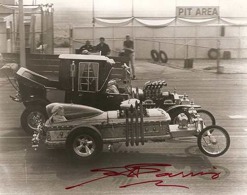 Race Car Wallpaper Images The Munsters Scan Of Photo Mr Barris Autographed For Me