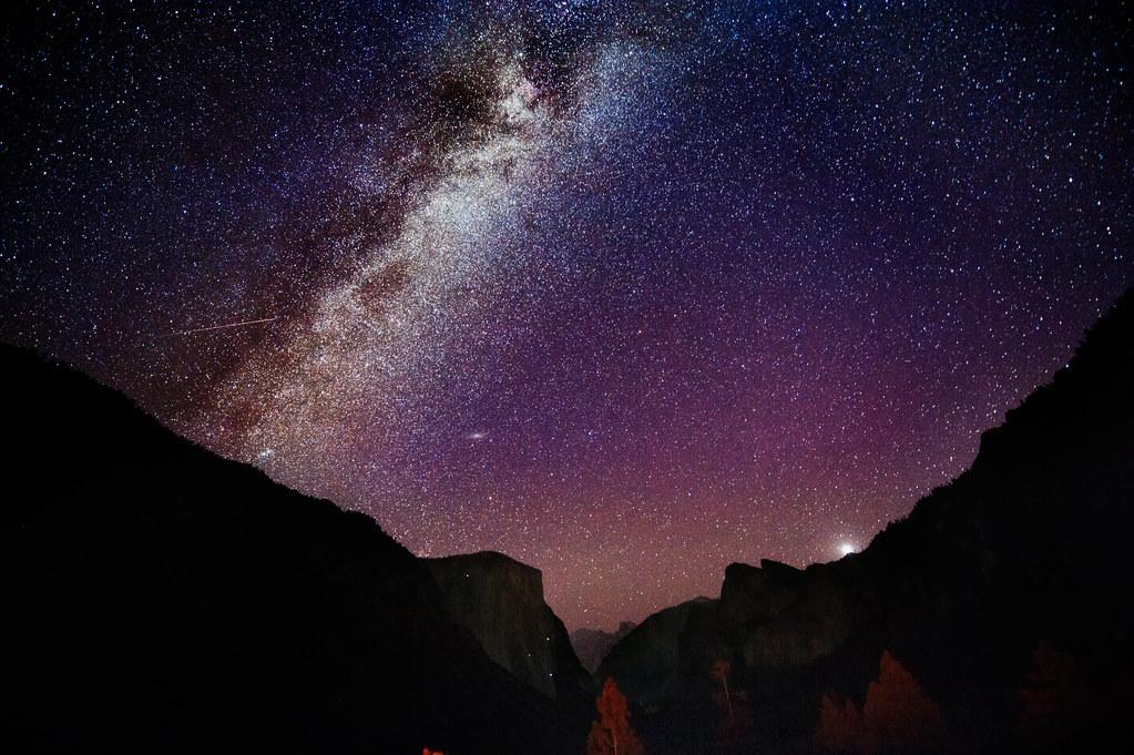 3d Moon Night Wallpaper Andromeda And El Capitan Thegoldensieve Com New Steps On