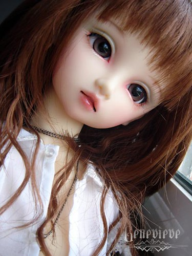 Sad Girl With Rose Wallpaper Geneviene Super Dollfie F01 Nana Lola Palacios Flickr