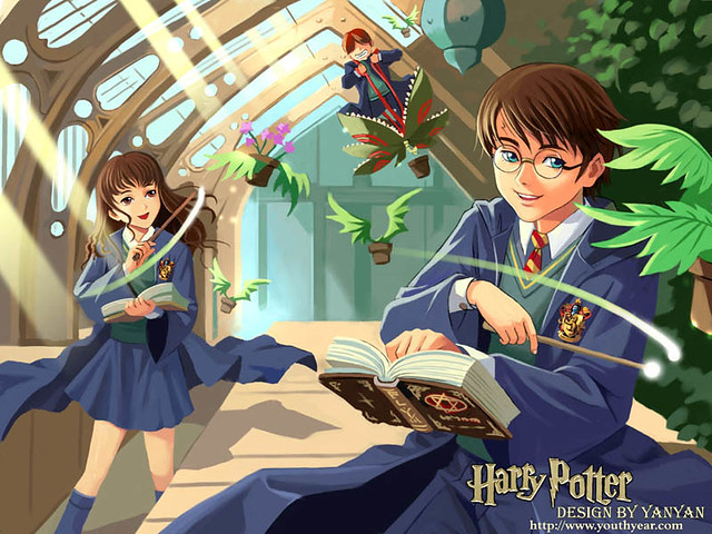 New Sad Girl Wallpaper Harry Potter Anime The Harry Potter Animefied I Wish