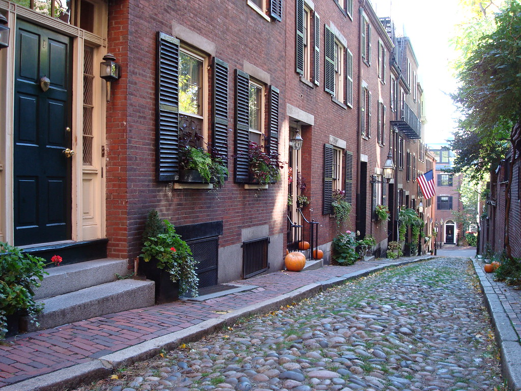 Kentucky Fall Wallpaper 2017 Acorn Street Boston Ma In The Fall Of 2007 My Wife