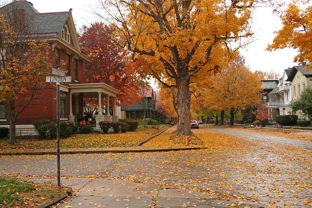 Fall Autumn Wallpaper Free Evansville Historic District Black Doll Flickr