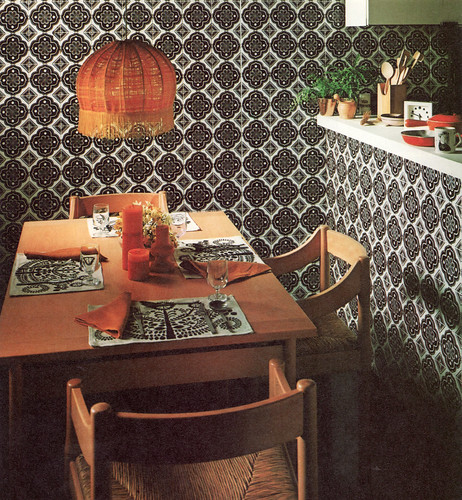 Small Kitchen 70s Kitchen 4 | Vico Magistretti Chairs, So Typical Of The