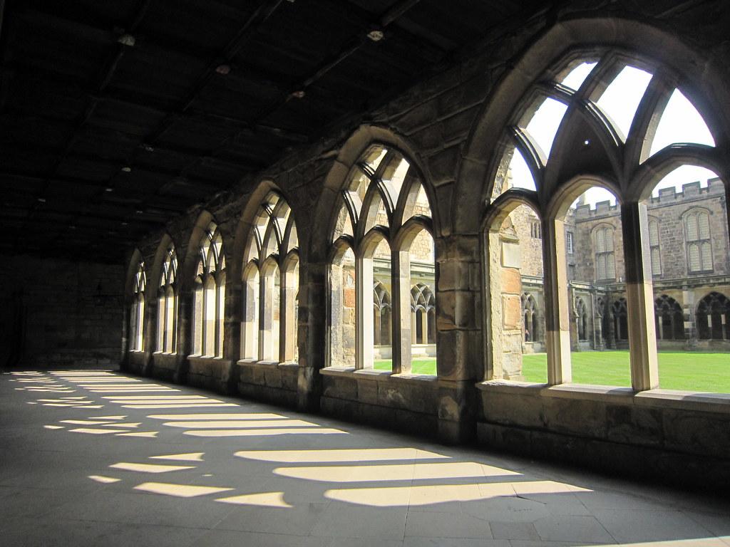 K 3d Wallpaper Durham Cathedral Cloisters Sandymillin A K A Hogwarts