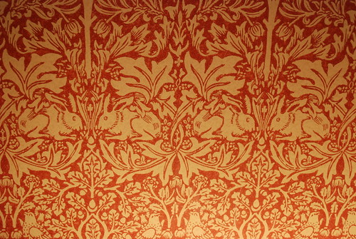 Wallpaper 3d Leigh House Details From Our Room William Morris Wallp