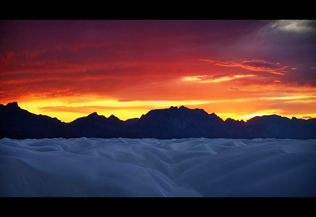 3d Picture Wallpaper White Sands Sunset I Didn T Think There D Be A Sunset