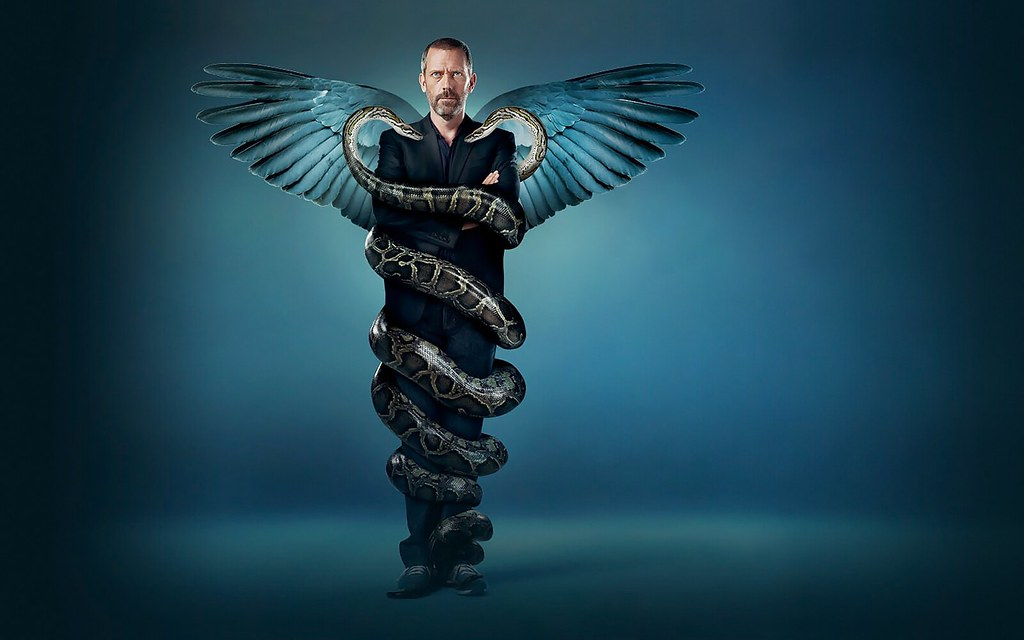 Wallpaper Supernatural 3d House Caduceus Wallpaper I Was Much Enamored Of The