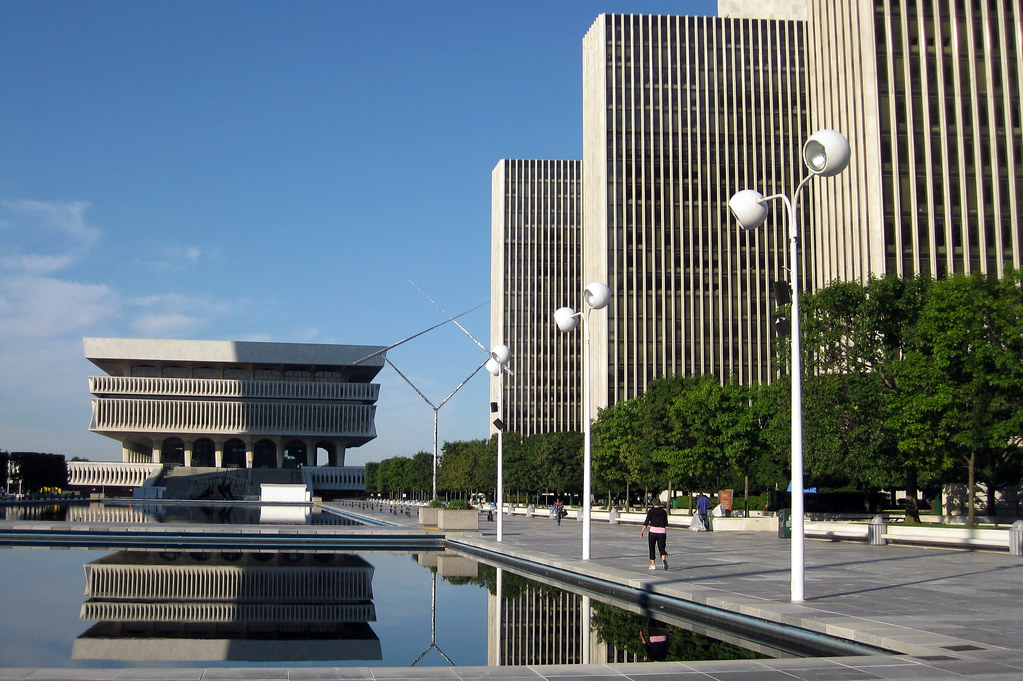 K 3d Wallpaper Ny Albany Empire State Plaza The Cultural Education