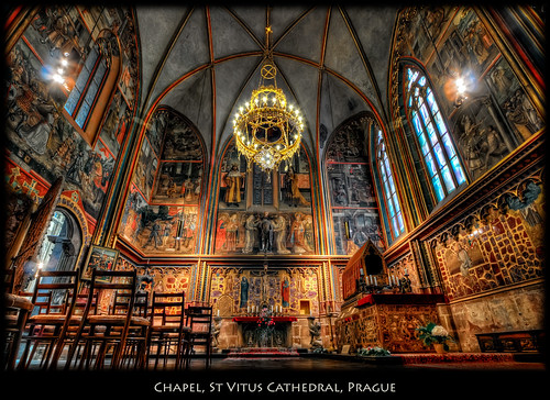 Bohemia Wallpaper 3d Prague A Chapel In St Vitus Cathedral I Have A