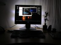 Bias lighting | Simple bias lighting with Dioder | Khairil ...