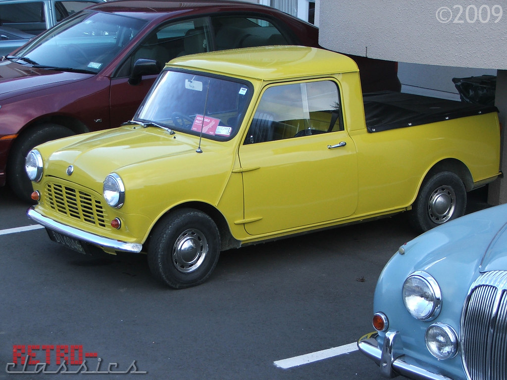 Vintage Blog 1968 Austin Mini Ute | Retro-classics | Flickr