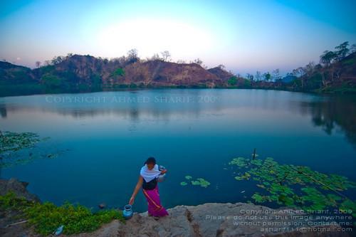 Tribal Wallpaper 3d First Colours Of The Morning Boga Lake Bandarban