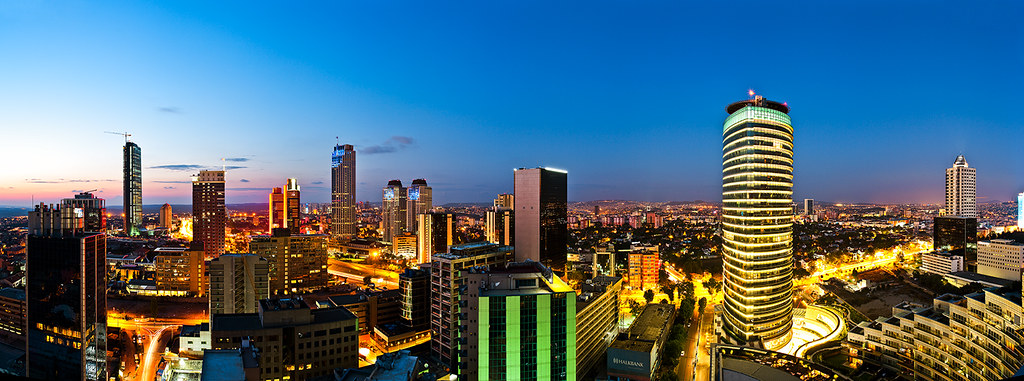 Istanbul Hd Wallpaper Istanbul Business District Panorama Levent Maslak Flickr